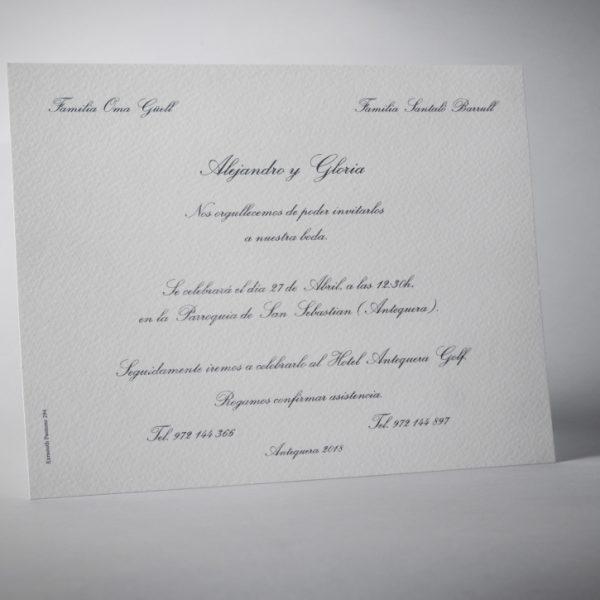 B1230 invitacion de boda