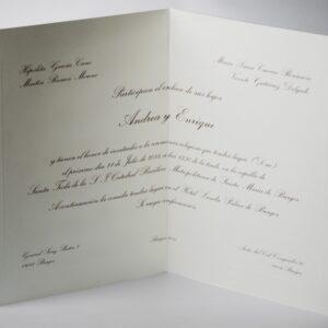 B1231 invitacion de boda
