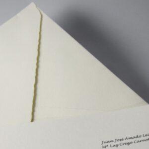 B1233 invitacion de boda detalle sobre