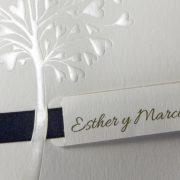 B101565AZ invitacion de boda detalle