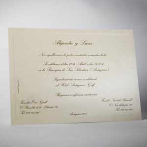 Invitacion de boda B1425