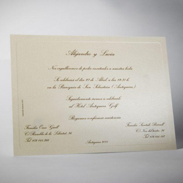 B1425 invitacion de boda