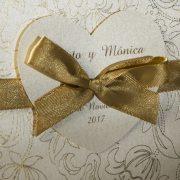 B1569 invitacion de boda detalle