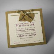 Invitacion de boda B1576