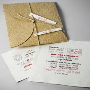 B1601 invitacion de boda