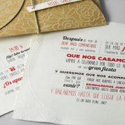 B1601 invitacion de boda detalle