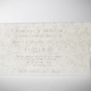 Invitacion de boda B1602