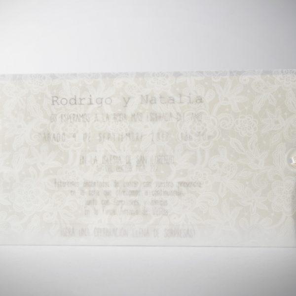 B1602 invitacion de boda cerrada