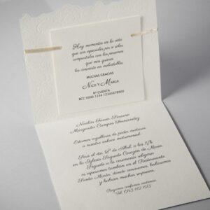 B1603 invitacion de boda