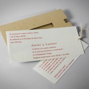 B1606 invitacion de boda abierta