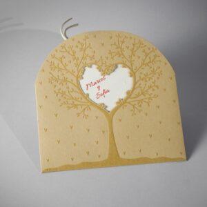 Invitacion de boda B1607