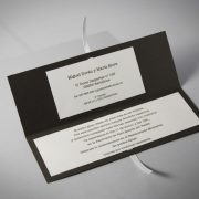 B1610 invitacion de boda abierta