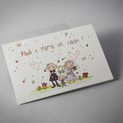 Invitacion de boda B1614