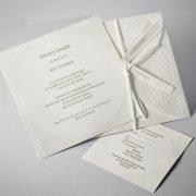 B1615 invitacion de boda abierta