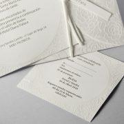 B1615 invitacion de boda abierta detalle
