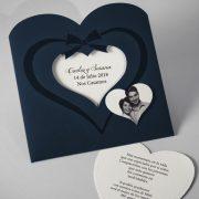 B1616 invitacion de boda tarjetas