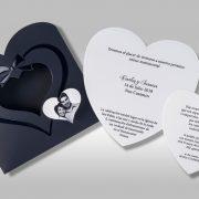 B1616 invitacion de boda tarjetas abiertas
