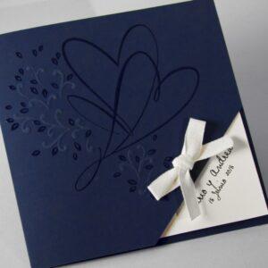 Invitacion de boda B1618