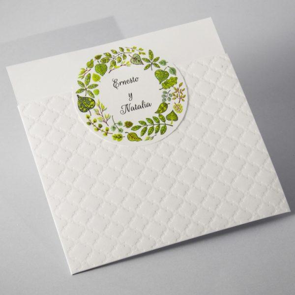 B1623 invitacion de boda