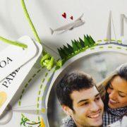 B1625 invitacion de boda detalle