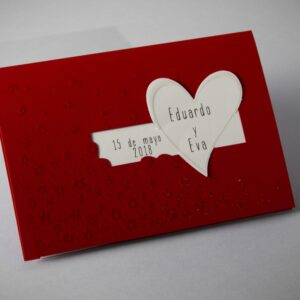 Invitacion de boda B1626