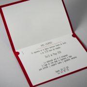 B1626 invitacion de boda abierta