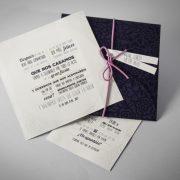 B1631 invitacion de boda abierta
