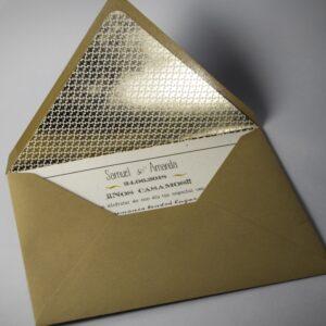 B1633 invitacion de boda y sobre