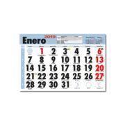 Faldilla Calendario Mensual 235
