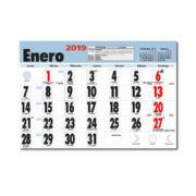 Faldilla Calendario Mensual Notas 335