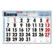 Faldilla Calendario Mensual 435