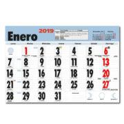 Faldilla Calendario Mensual Notas 435