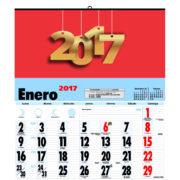 Calendario 2017 Neutro 335