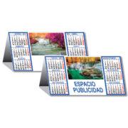 Calendario sobremesa Saltos de Agua