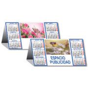 Calendario sobremesa Flores