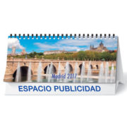 Calendario sobremesa Madrid