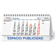 Calendario Sobremesa Neutro 13 hojas