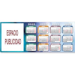 CU 30 - Calendario Cubilete Neutro