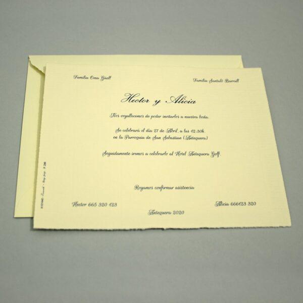 Invitacion de Boda A101440