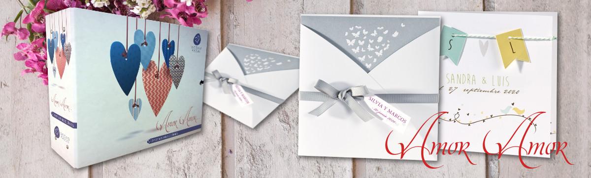Invitaciones de boda Amor Amor