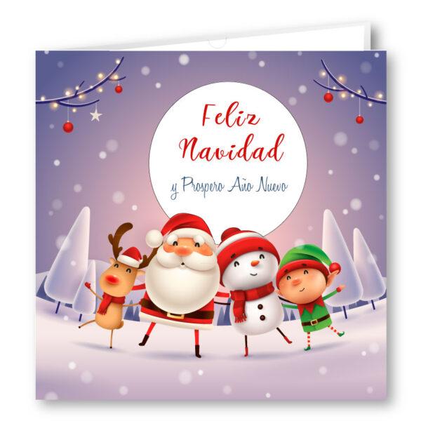 Felicitacion Navidad 1925