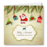Felicitacion Navidad 1949