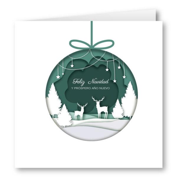 Felicitacion Navidad 1963