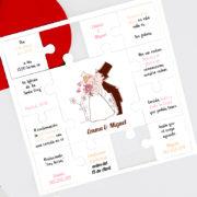 Invitación de boda A100102