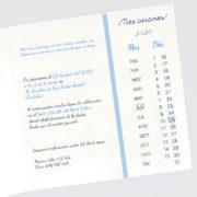 Invitación de boda A100121