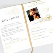 Invitación de boda A100141