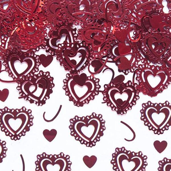 confeti corazon