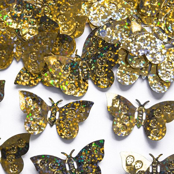 confeti mariposa