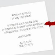invitacion boda B100129 tex