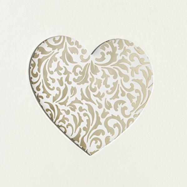 libro firmas blanco corazon blanco troquelado detalle